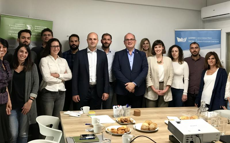 Expert Mission 4 – Julije Domac to the Aegean Energy & Environment Agency, Greece